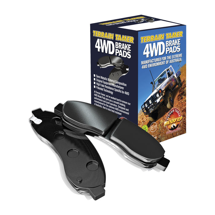 4WD Brake Disc Pads - Toyota Tacoma GRN