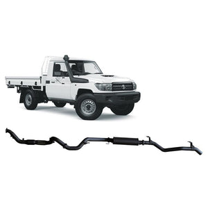 Redback 4x4 - 4x4 Performance Exhaust To Suit Toyota Landcruiser 79 Series (2007-2016)