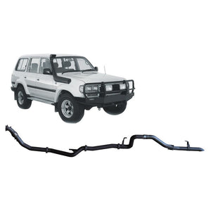 Redback 4x4 - 4x4 Performance Exhaust To Suit Toyota Landcruiser 80 Series (1990-1997)