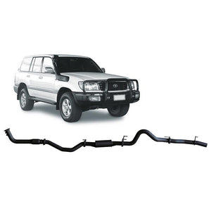 Redback 4x4 Extreme Duty - 4x4 Performance Exhaust To Suit Toyota Landcruiser 100 Series (2000-2007) (Turbo)
