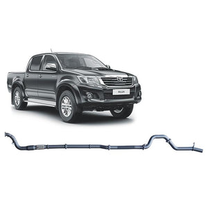 Redback 4x4 Extreme Duty - 4x4 Performance Exhaust To Suit Toyota Hilux Kun16R, Kun26R (2005-2015) (Twin Pipe System)