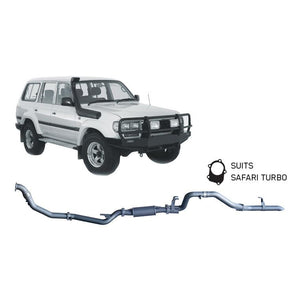 Redback 4x4 Extreme Duty - 4x4 Performance Exhaust To Suit Toyota Landcruiser 80 Series (1990-1998) (SAF)