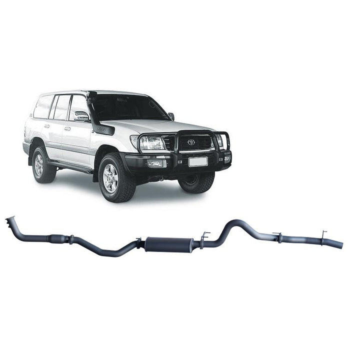 Redback 4x4 Extreme Duty - 4x4 Performance Exhaust To Suit Toyota Landcruiser 100 Series (2000-2007)