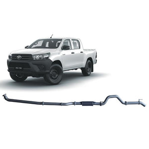 Redback 4x4 Extreme Duty - 4x4 Performance Exhaust To Suit Toyota Hilux Gun126R (2015-Present)