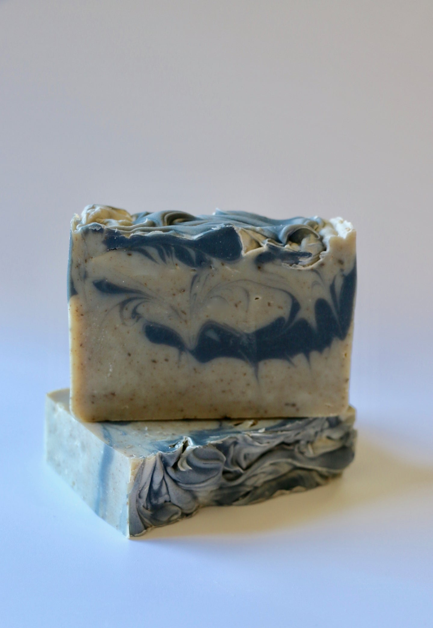 Dead Sea mud + activated charcoal. Detox natural handcrafted soap. Ishtahfeetah soapery.