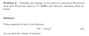 Ideal Binary Mixture: Average Translational Energy and Entropy