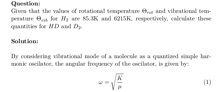 Rotational and Vibrational Temperatures of HD and D2 Molecules