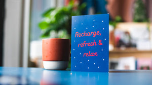 Recharge, refresh and relax