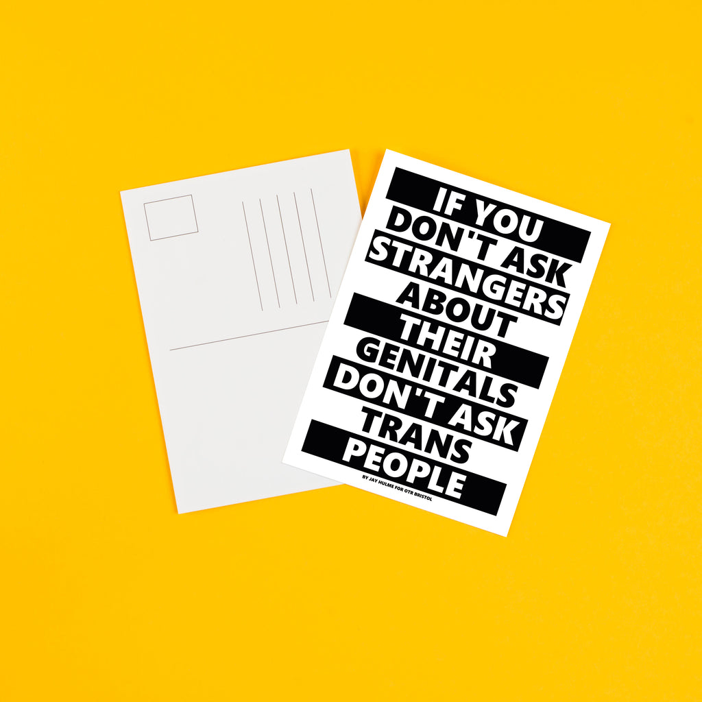 Don't Ask - A6 Postcard