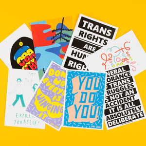 A6 Postcard - Pack of 9