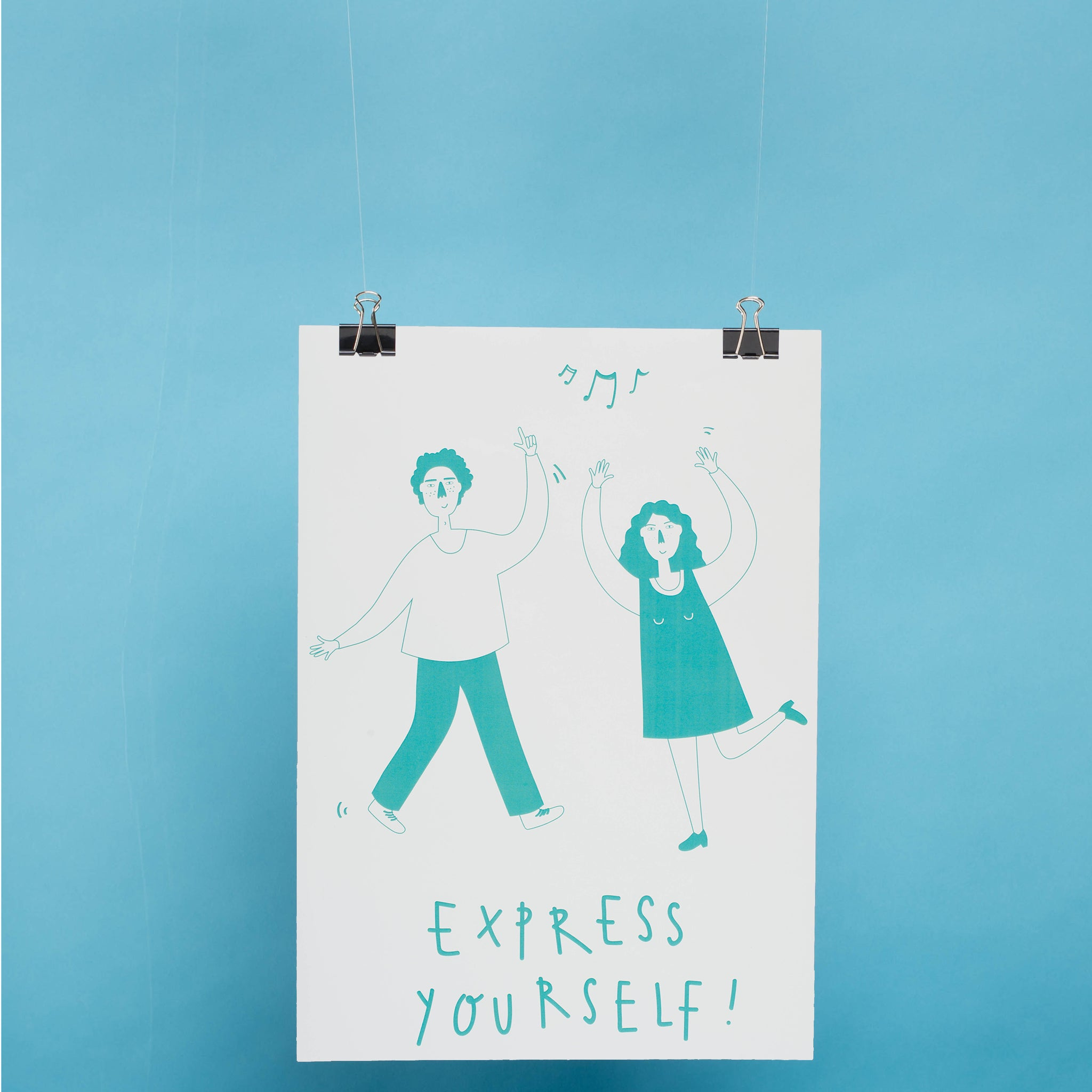Express Yourself - A3 Poster