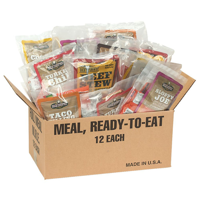Deluxe Complete MRE 12 Complete Meals