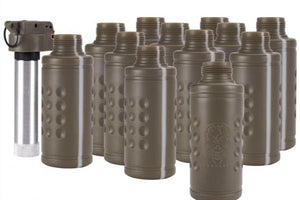 TB-12E Hakkotsu Thunder B Airsoft Co2 Simulation Grenade (Package: 12 Shell Set / Tripwire)