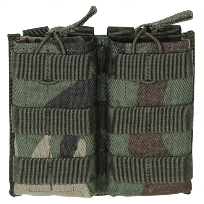 Voodoo Tactical Double M4/M16 Open Top Mag Pouch