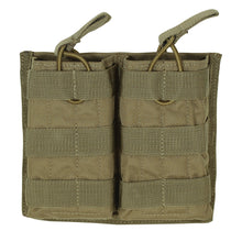 Load image into Gallery viewer, Voodoo Tactical Double M4/M16 Open Top Mag Pouch