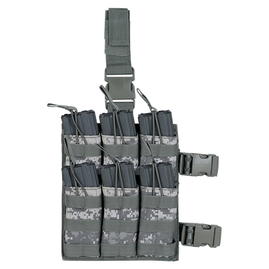 Voodoo Tactical M4/M16 6 Mag Drop Leg Shingle Stacker