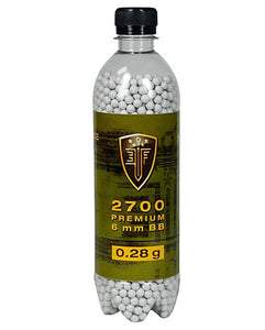 Elite Force .28g Premium 6mm Airsoft BBs - 2700 Rounds
