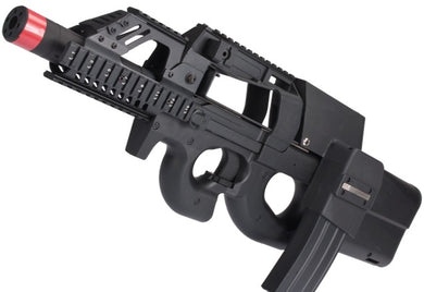 P90 Terminator Airsoft AEG w/ Box Mag (Color: Black)