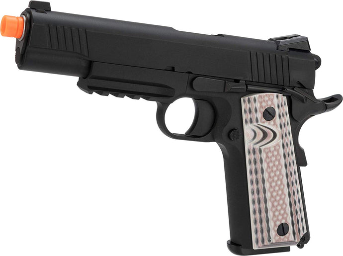 WE-E015-BKM45A1 WE-Tech Full Metal 1911 M45A1 Gas Blowback Airsoft GBB Pistol