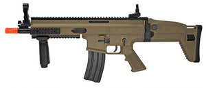 FN Herstal Licensed SCAR-L Airsoft AEG (Color: Desert)