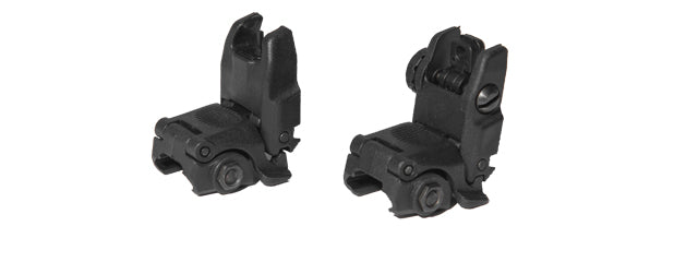 AC-350B2 ACM NBUS Gen 2 Back-Up Sight Set (Color: Black)