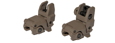 AC-350T1 ACM NBUS Gen 2 Back-Up Sight Set (Color: Dark Earth)