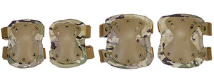 AC-478C Tactical Quick-Release Knee & Elbow Pad Set (Camo)