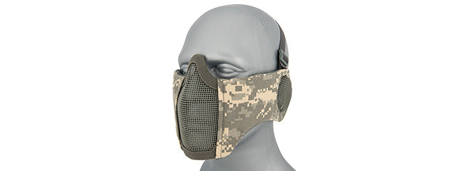 AC-643ACU Tactical Elite Face and Ear Protective Mask (ACU)