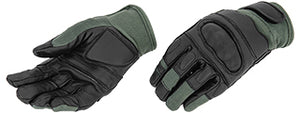 AC-809L Kevlar Hard Knuckle Gloves (Sage) - Large