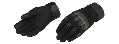 Lancer Tactical Airsoft Tactical Hard Knuckle Gloves [LARGE] (BLACK)