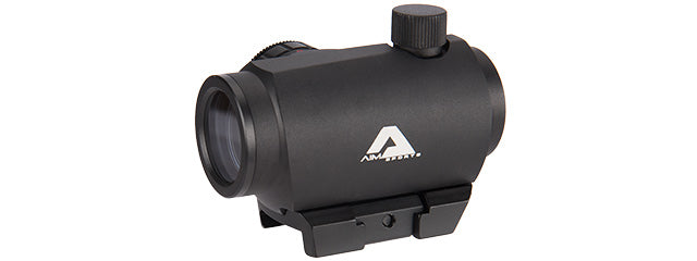 AIM-RQDT125-L 1X20MM Dual Illuminated Micro Dot w/ Lower 1/3 Co-Witness