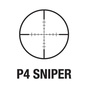 AIM SPORTS 3-9x40 P4 Sniper Scope w/flip up lens covers and rings