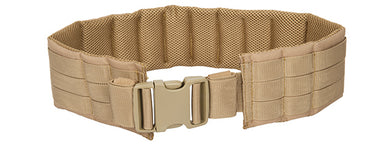CA-1059TN Molle Battle Belt (Tan)