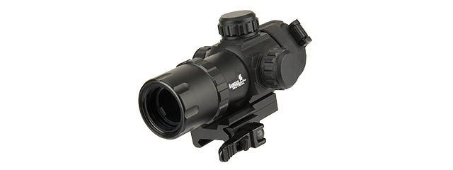 CA-1421B Lancer Tactical QD Red Dot Adjustable Dot Sight (Black)