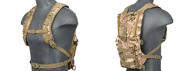 CA-321CN Nylon Lightweight Hydration Pack (CAMO)