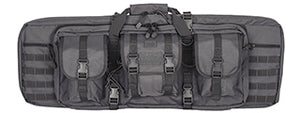 "CA-345GY Molle 36"" Double Gun Bag (Color: Grey)"