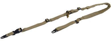 CA-367TN 2-Point Padded Sling (Tan)
