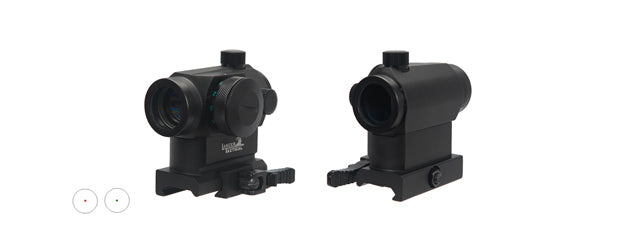 Lancer Tactical CA-418B Mini Red & Green Dot Sight w/Quick Release Mount