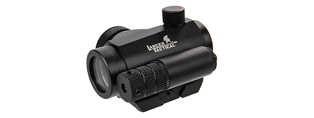 CA-421B Lancer Tactical Mini Red & Green Dot Sight w/ Red Laser