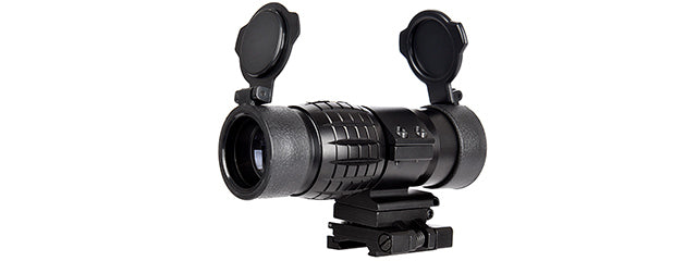Lancer Tactical 1-3X Adjustable Magnifier w/ Picatinny Mount (BLACK)