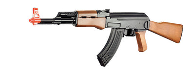 UKARMS IU-AK47A CM022 ABS PLASTIC AK47 AEG AIRSOFT RIFLE  (BLACK/FAUX WOOD)