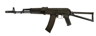 Lancer Tactical Full Metal AKS 74 w/ Skeletonized Folding Stock LT-731C-NB