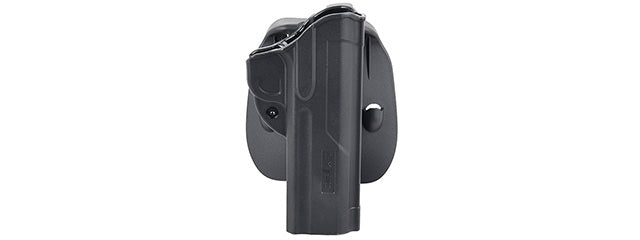 CY-F1911-5 Cytac Fast Draw Hard Shell Holster for 1911 (BLACK)