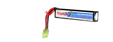 Tenergy 11.1V1000S 20C 11.1V 1000 mAh Stick Lipo Battery