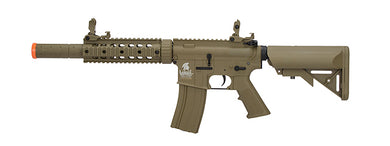 LANCER TACTICAL LT-15T-G2 AIRSOFT POLYMER M4 GEN 2 SD AEG RIFLE (TAN)
