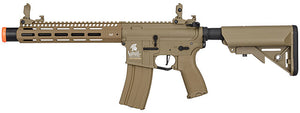 "LT-32TA10-G2-E Lancer Tactical M4 SPC Hybrid 10"" ETU AEG Rifle (Tan)"