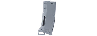 Lancer Tactical 130 Round High Speed Midcap Magazine (Gray) LT-MIDMAG-HSY
