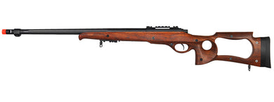 M70W Bolt Action Sniper Rifle w/Fluted Barrel (Color: Wood)