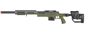 MB4410G Well Airsoft M24/M28 Bolt Action Rifle w/ Folding Stock - OD Green