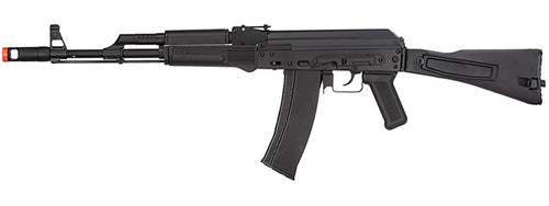 MBG74B WellFire AK74 Gas Blowback GBB Airsoft Rifle (BLACK)